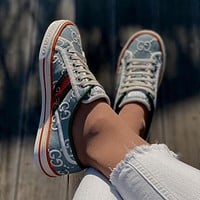 GG Tennis 1977 Low Men's and Women's Canvas Shoes