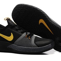 Men's Nike Zoom Assersion EP Kyrie 3 Basketball Shoes Black Yellow 40-46