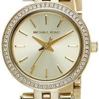 Michael Kors Watches Petite Darcy Three Hand Stainless Steel Watch