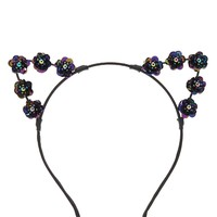 Iridescent Cat Ear Headband