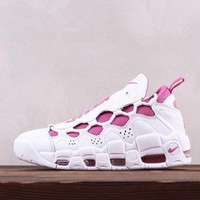 DCCK N234 Sneaker Room x Nike Air More Money QS Running Shoes White Pink