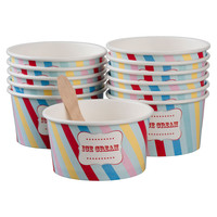Little Circus Ice Cream Cups 12 Pack
