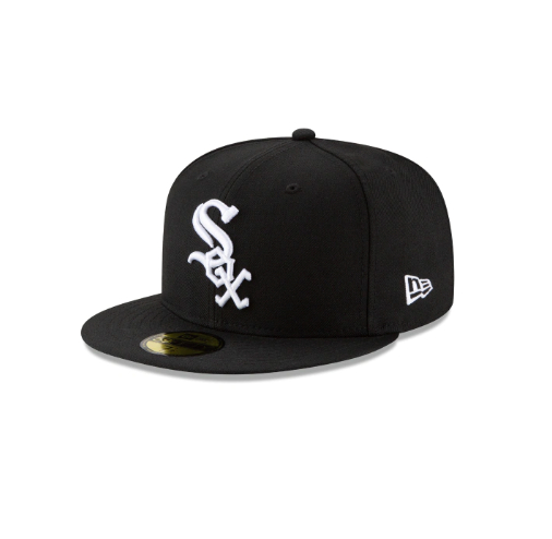 Image of New Era Chicago White Sox Grey Bottom 59Fifty Fitted Cap