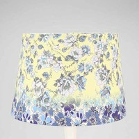 Plum & Bow Floral Lamp Shade- Yellow One
