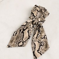 Billie Snakeskin Hair Tie