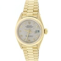 Rolex Datejust automatic-self-wind womens Watch 69178 (Certified Pre-owned)