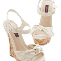 ModCloth Cabana Cruise Wedge