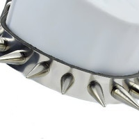 Spike Choker Goth Industrial Punk Rock Black Metal Club