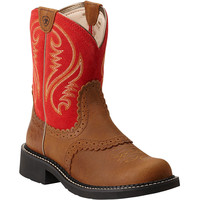 10014079 Ariat Women's Fatbaby Heritage Western from Bootbay, Internet's Best Selection of Work, Outdoor, Western Boots and Shoes.