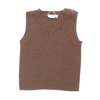 Bamboo Knitted Sweater Vest
