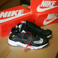 """""""Nike Air Huarache 1"""" Unisex Casual Fashion Letter Running Shoes Couple Sneakers"""