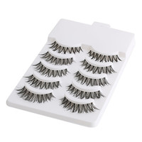 5 Pairs Natural Soft Eye Lashes Makeup Handmade Thick Fake False Eyelashes Extension Voluminous Makeup Beauty