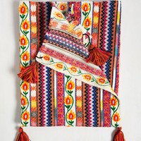 Pitter Patterns Blanket by Karma Living from ModCloth