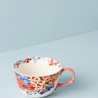 Liberty for Anthropologie Wiltshire Garden Teacup