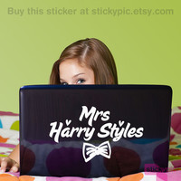 Mrs Harry Styles One Direction Laptop Decal by stickypic