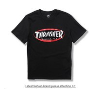 Short Sleeve Casual Couple T-shirts [10176389767]