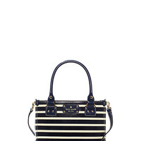 Kate Spade Wellesley Fabric Stripe Small Quinn French Navy/Cream ONE
