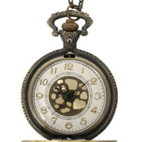 Rib Cage Pocket Watch Necklace
