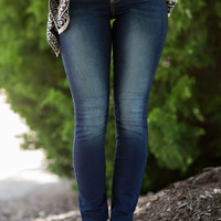 CELLO Signature Skinny Jeans-Faded Indigo