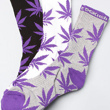 DGK The DGKush 3Pack Crew Socks in White Black Athletic Heather : Karmaloop.com - Global Concrete Culture