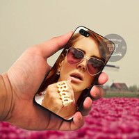 Lana Del Rey case for iPhone 5/5s/5c/4/4s/6/6+, iPod 4th 5th, HTC One, LG Nexus, Samsung Galaxy S3/S4/S5, Note 2/3