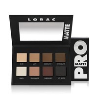 LORAC PRO Matte Eye Shadow Palette (Chocolate/Red/Latte)