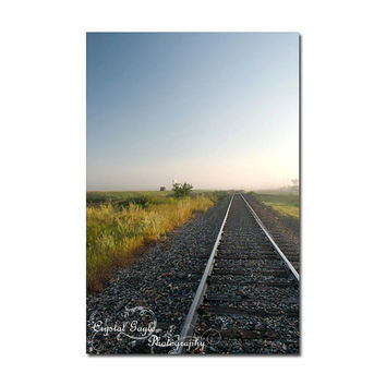 Train Photography Print Country Home Decor Country Chic Coaster Magnetic Calendar Greeting Card