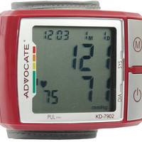 Advocate - Wrist Blood Pressure Monitor with Color Indicator