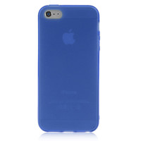 Dark Blue Solid Color Case For iPhone 5 & 5S