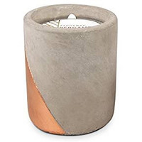 Urban Collection Soy Wax Candle In Concrete Pot, 12-Ounce, Bergamot & Mahogany