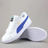Trendsetter Puma Basket Classic Lfs Women Men Fashion  Low-Top Old Skool Shoes
