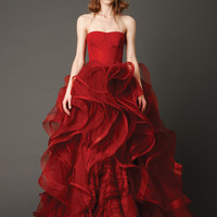 Wedding Dresses, Bridal Gowns by Vera Wang   Spring 2013