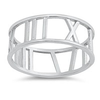 The Classic Roman Numeral Ring