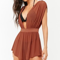 Sheer Cover-Up Romper