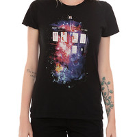 Doctor Who Galaxy TARDIS Girls T-Shirt