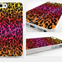 case,cover fits iPhone models>animal print,leopard,abstract,retro,fuchsia,pink
