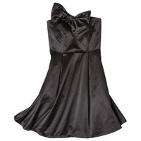 Kate Young For Target® Strapless Bow Dress -Black