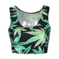 Mary Jane Crop Top