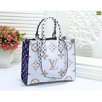 Louis Vuitton LV Newest Popular Women Leather Tote Crossbody Satchel Shoulder Bag Handbag 2#