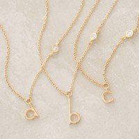 Mini Monogram Pendant Necklace