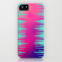 ABSTRACT SURF SUNSET iPhone & iPod Case by Nika