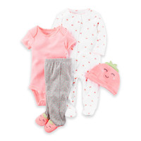 carter's® Strawberry Take Me Home Set in Neon Pink
