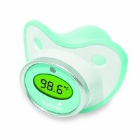 Summer Infant Pacifier Thermometer, Teal/White