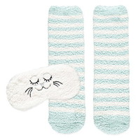 Fuzzy Cat Sleep Set