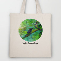 Hummingbird Tote Bag by Sophia Buddenhagen | Society6