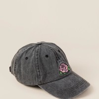 Christi Rose Distressed Baseball Cap