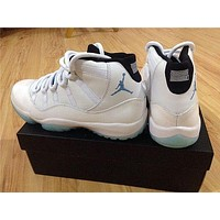 Air Jordan 11 Retro Legend Blue sneakers basketball shoes