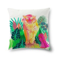 Vivid tropical tiger