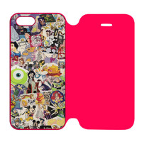Disney Characters Stained Glass iPhone 5 | 5S Flip Case Cover