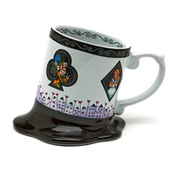 Disneyland Paris Alice In Wonderland Melted Mug | Disney Store